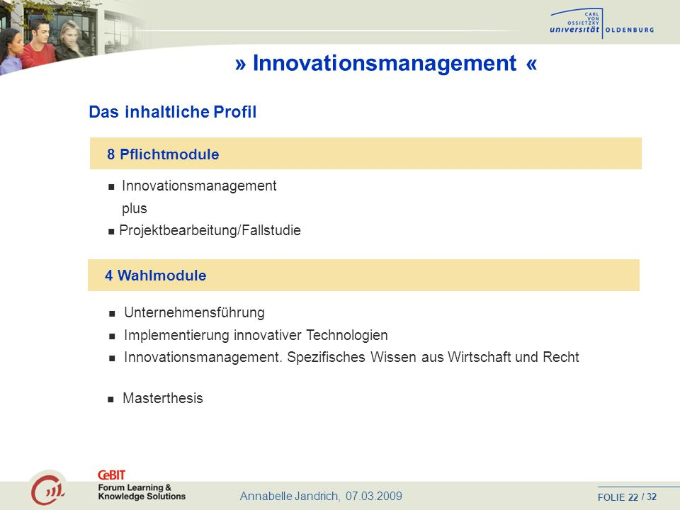» Innovationsmanagement «