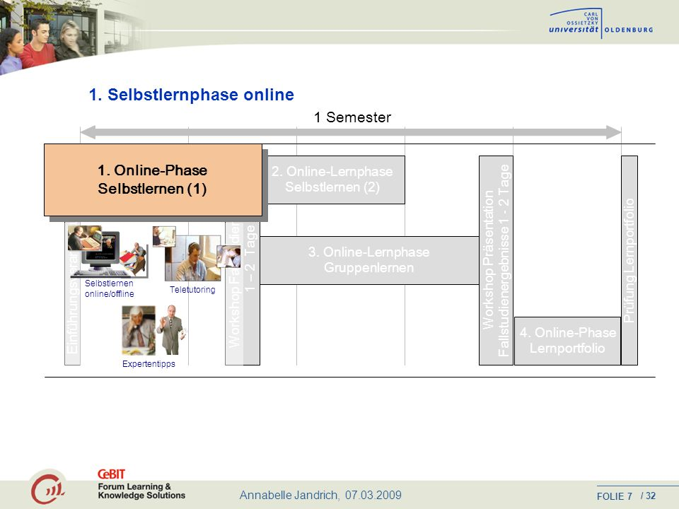 1. Selbstlernphase online