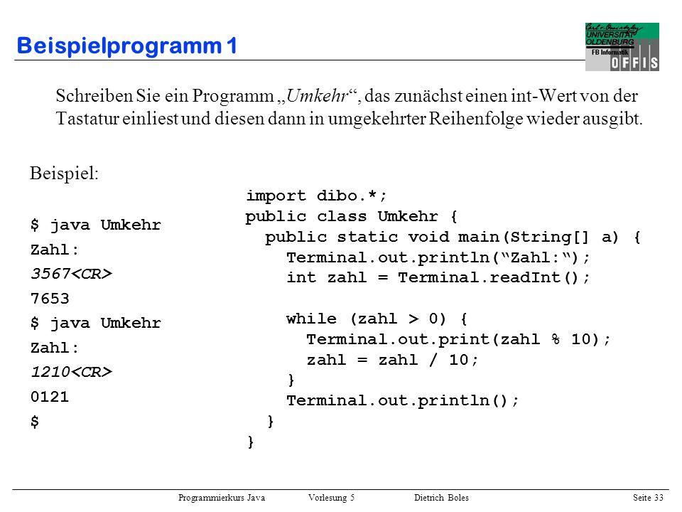 Beispielprogramm 1