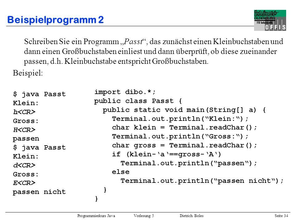 Beispielprogramm 2