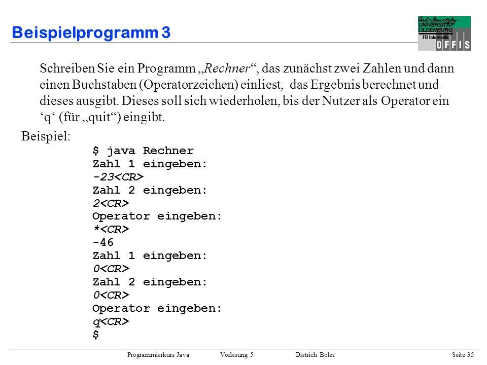 Beispielprogramm 3