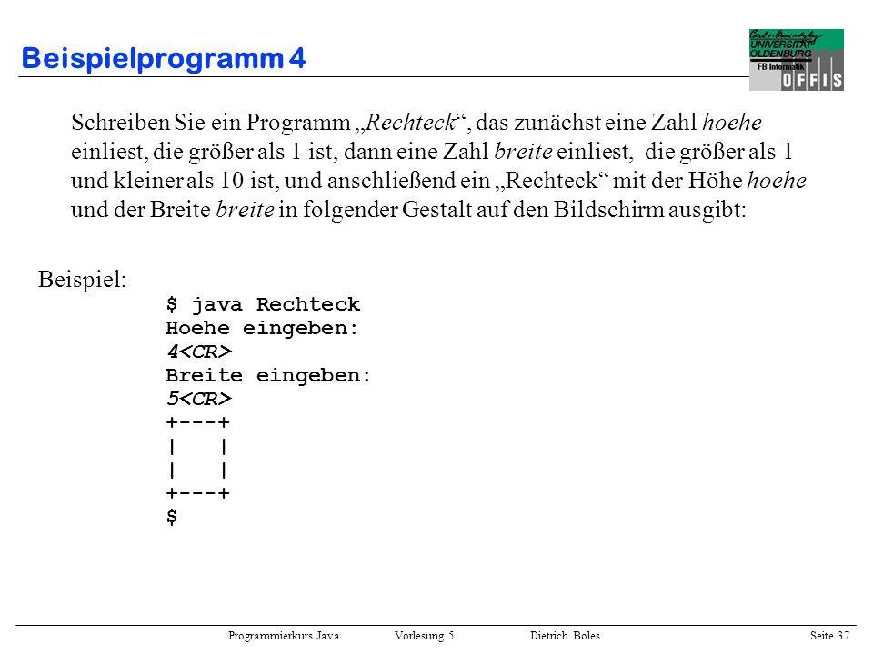 Beispielprogramm 4