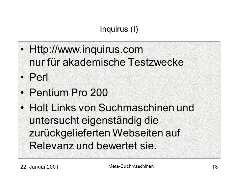 Http://www.inquirus.com nur für akademische Testzwecke Perl