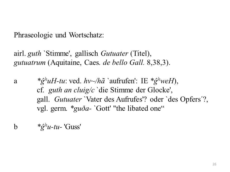 Phraseologie und Wortschatz: airl