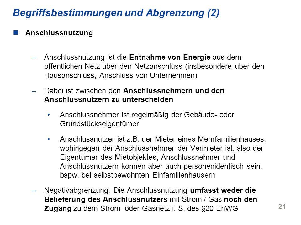 Begriffsbestimmungen und Abgrenzung (2)