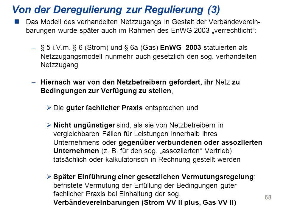 Von der Deregulierung zur Regulierung (3)