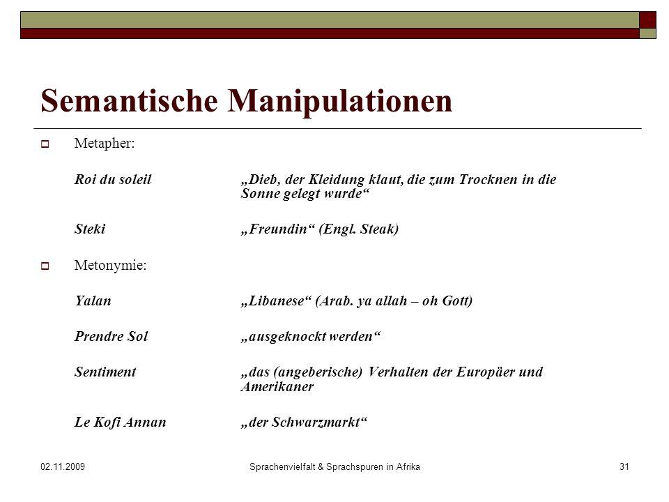 Semantische Manipulationen