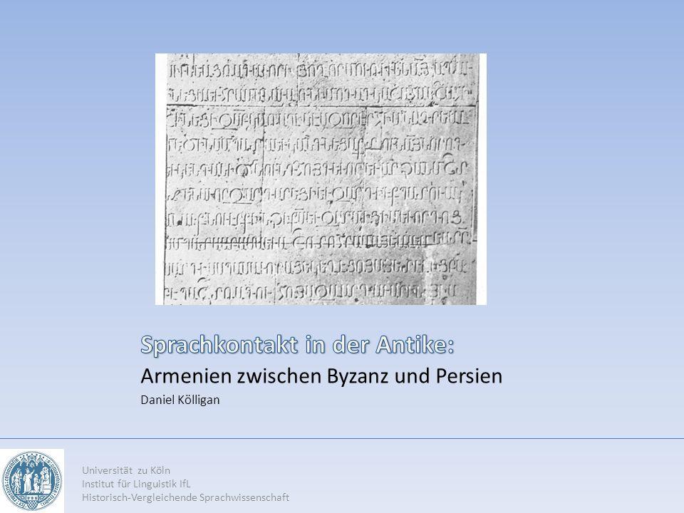 Sprachkontakt in der Antike: