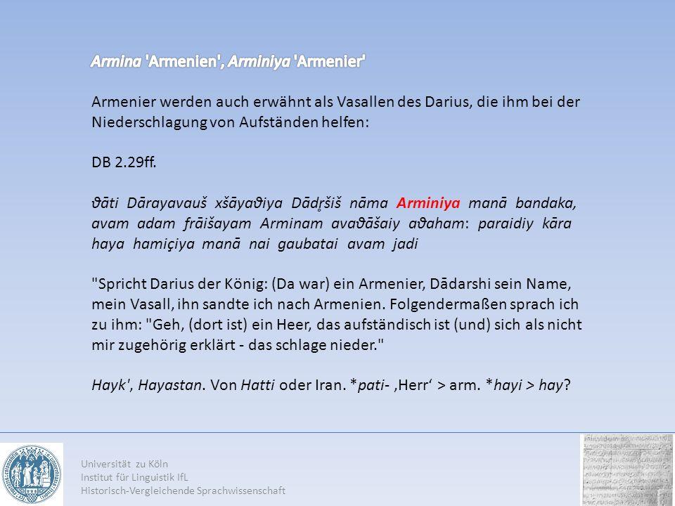 Armina Armenien , Arminiya Armenier