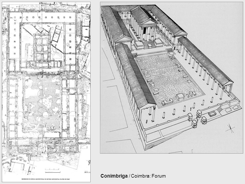 Conimbriga / Coimbra: Forum