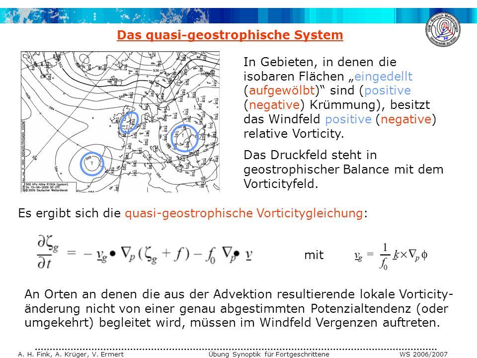 Das quasi-geostrophische System