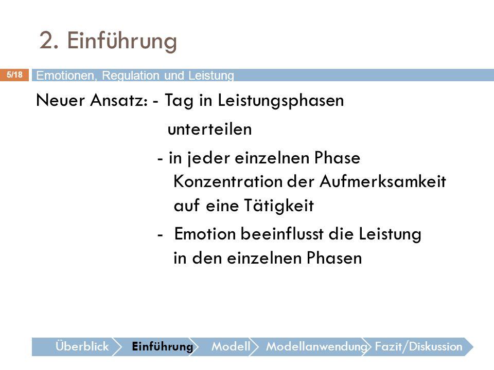 2. Einführung Emotionen, Regulation und Leistung.