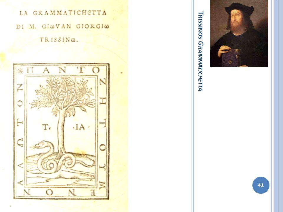 Trissinos Grammatichetta