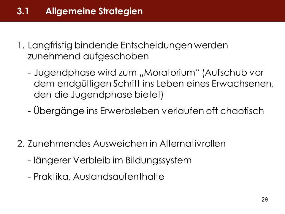 3.1 Allgemeine Strategien