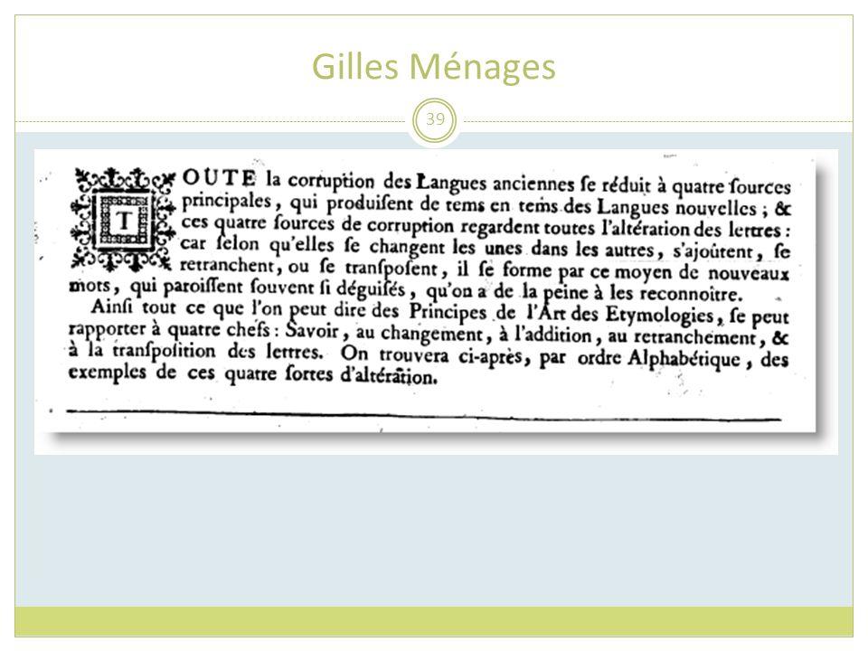 Gilles Ménages
