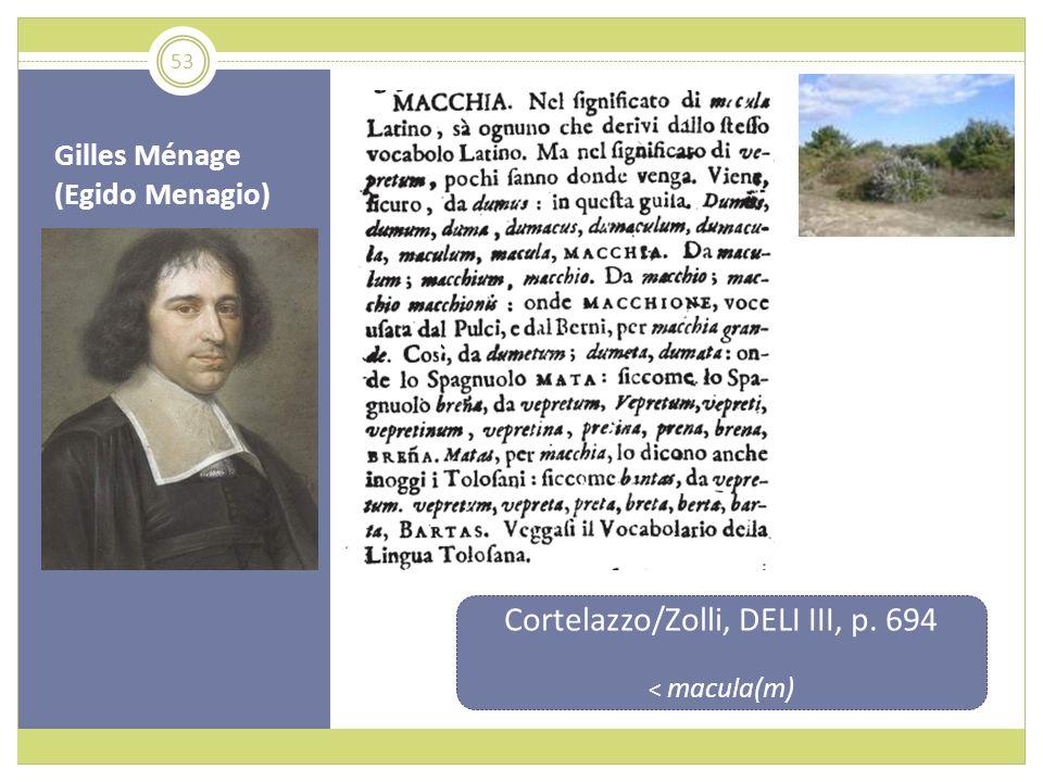 Gilles Ménage (Egido Menagio)