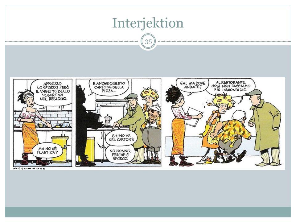 Interjektion