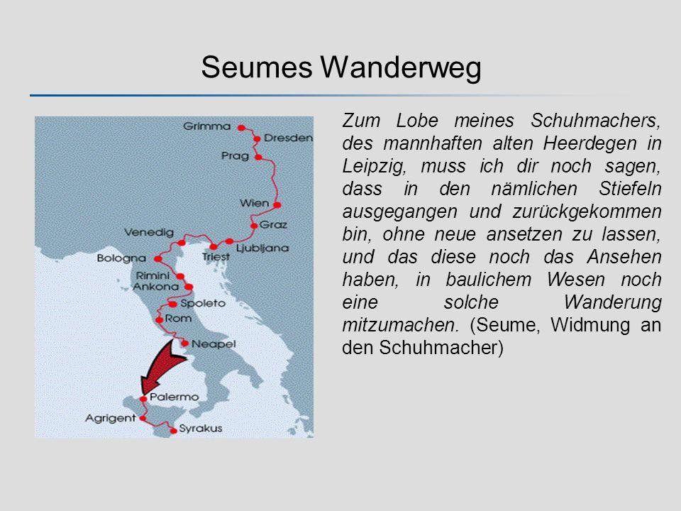 Seumes Wanderweg