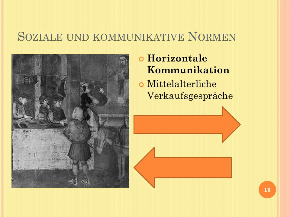 Soziale und kommunikative Normen