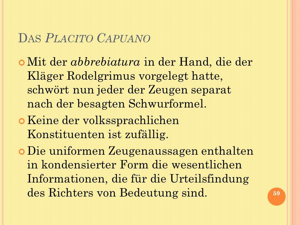 Das Placito Capuano