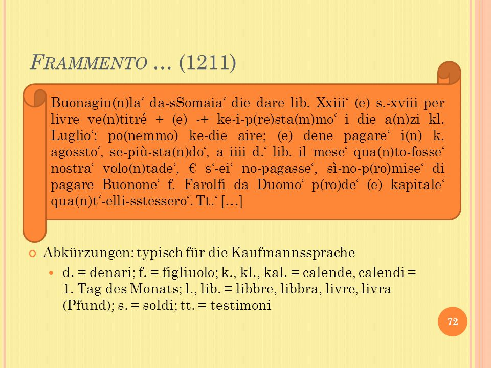 Frammento … (1211)