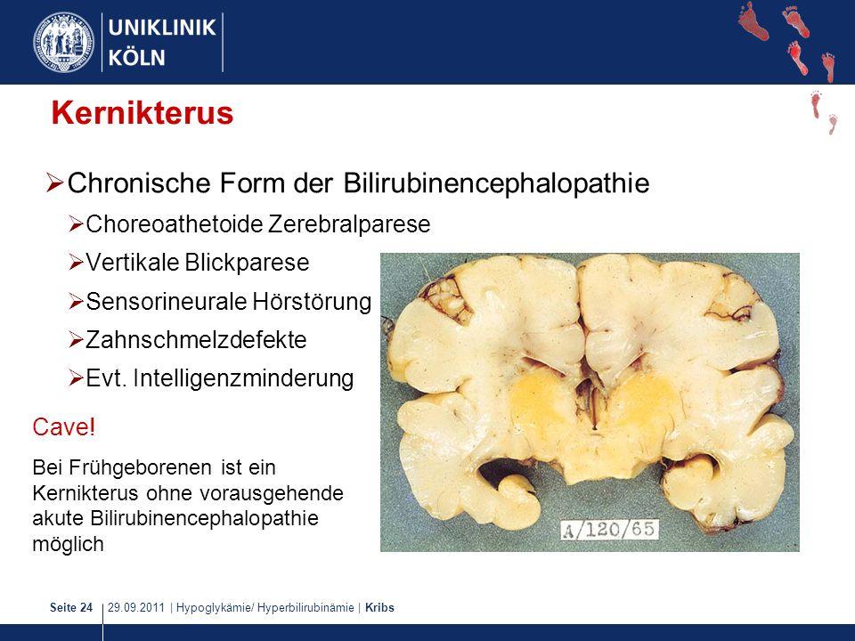 Kernikterus Chronische Form der Bilirubinencephalopathie