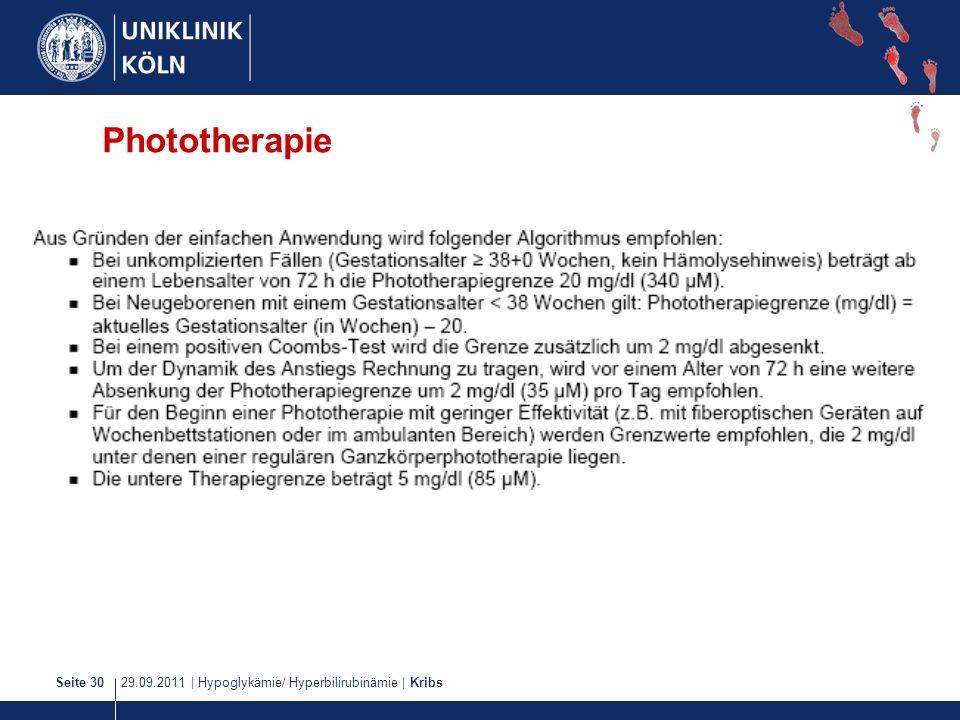Phototherapie