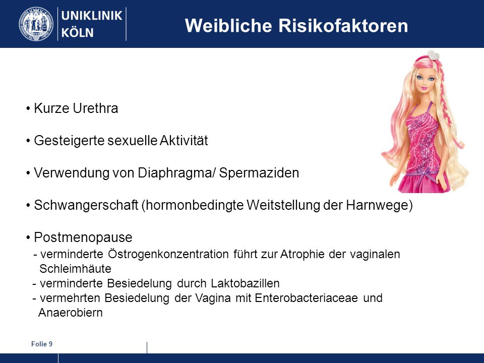 Weibliche Risikofaktoren
