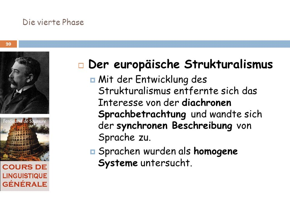 Der europäische Strukturalismus