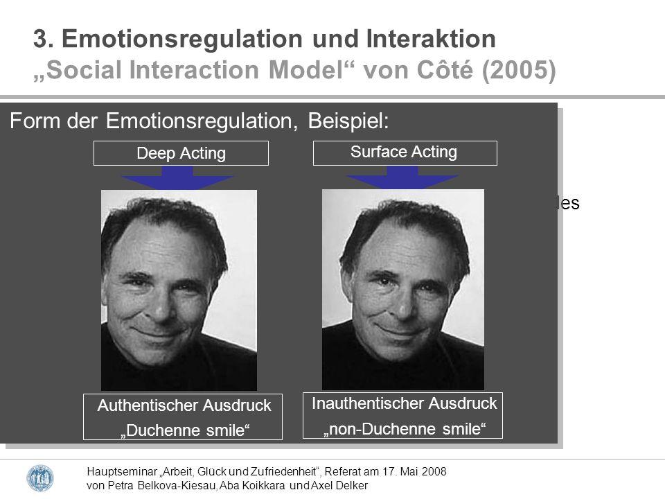 3. Emotionsregulation und Interaktion