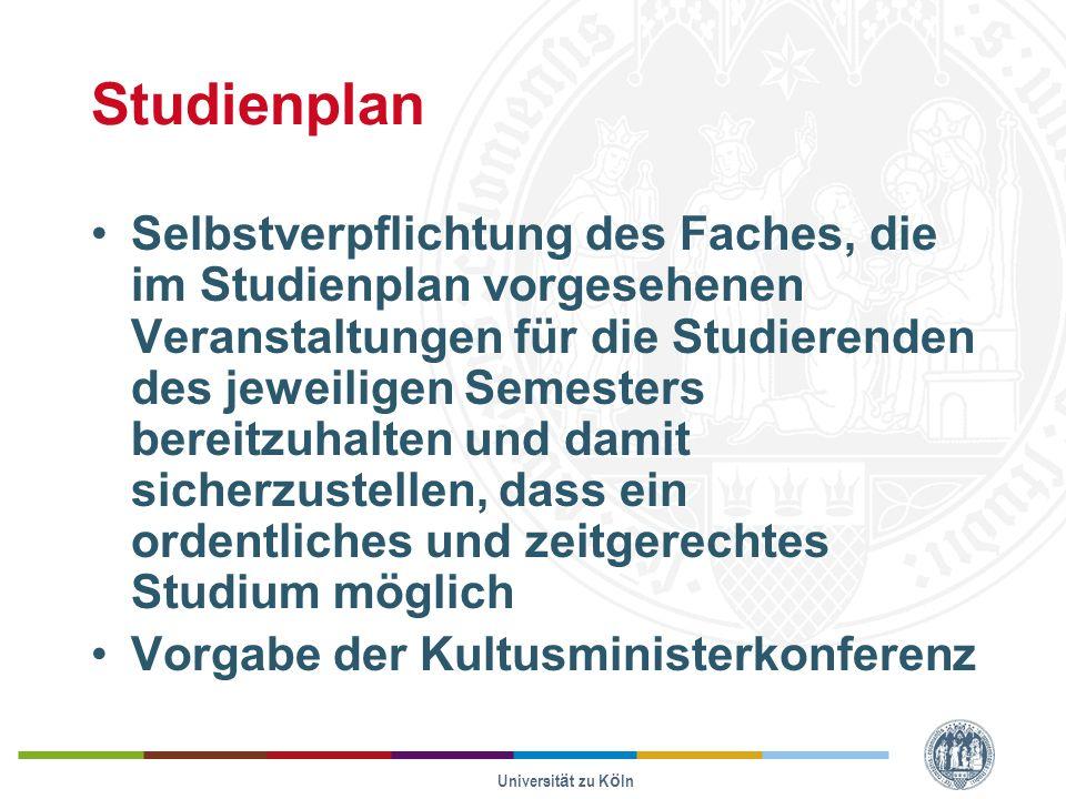 Studienplan