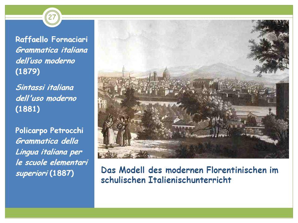 Raffaello FornaciariGrammatica italiana dell'uso moderno (1879) Sintassi italiana dell uso moderno (1881)