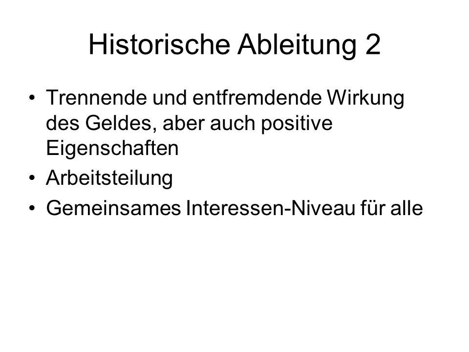 Historische Ableitung 2