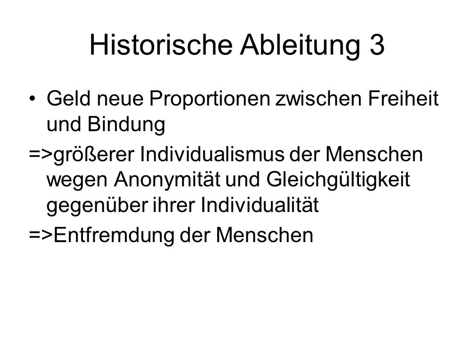 Historische Ableitung 3