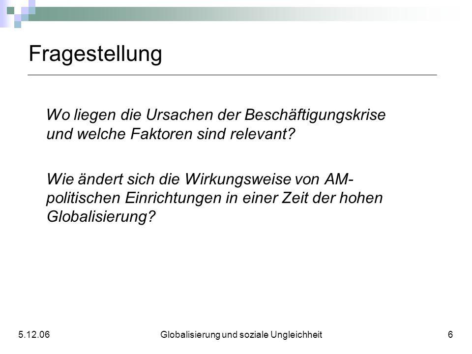 5.12.06 Globalisierung und soziale Ungleichheit 6