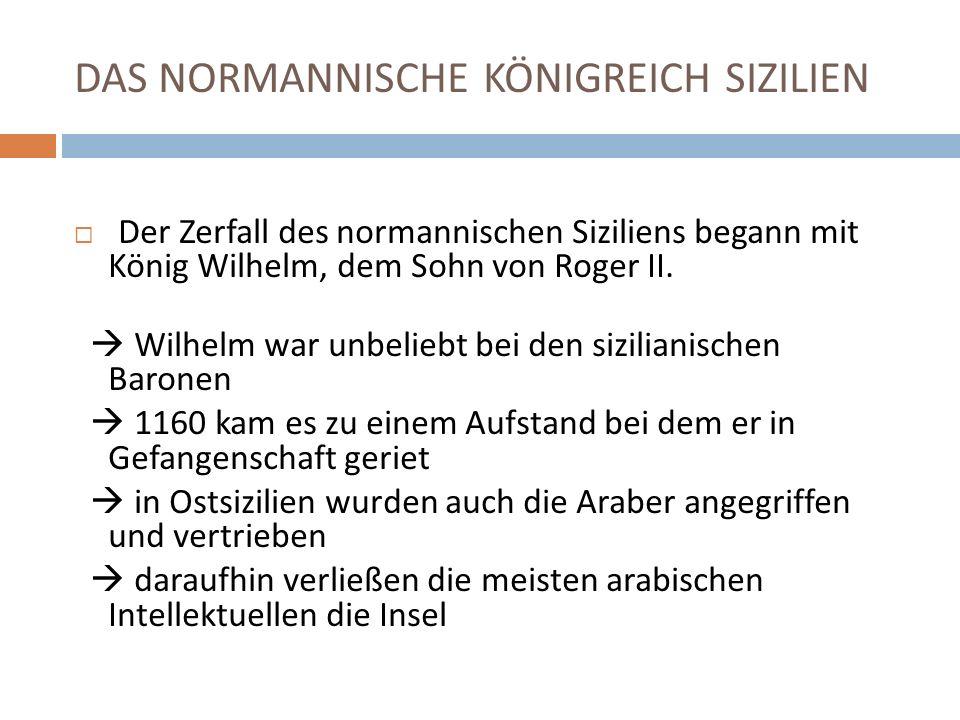 DAS NORMANNISCHE KÖNIGREICH SIZILIEN
