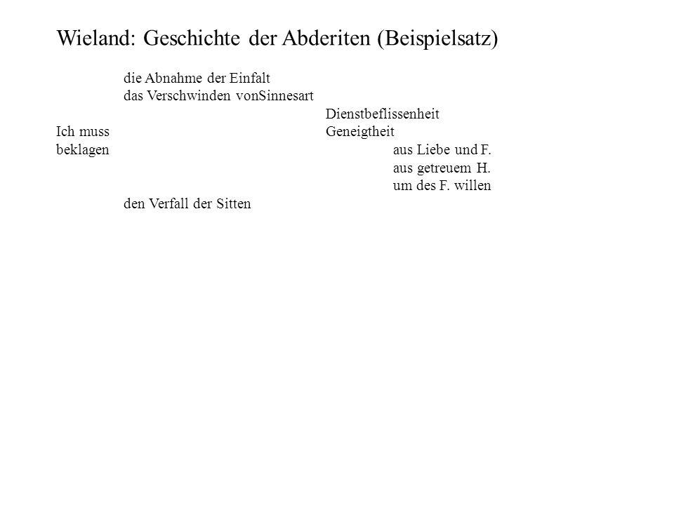 Wieland: Geschichte der Abderiten (Beispielsatz)