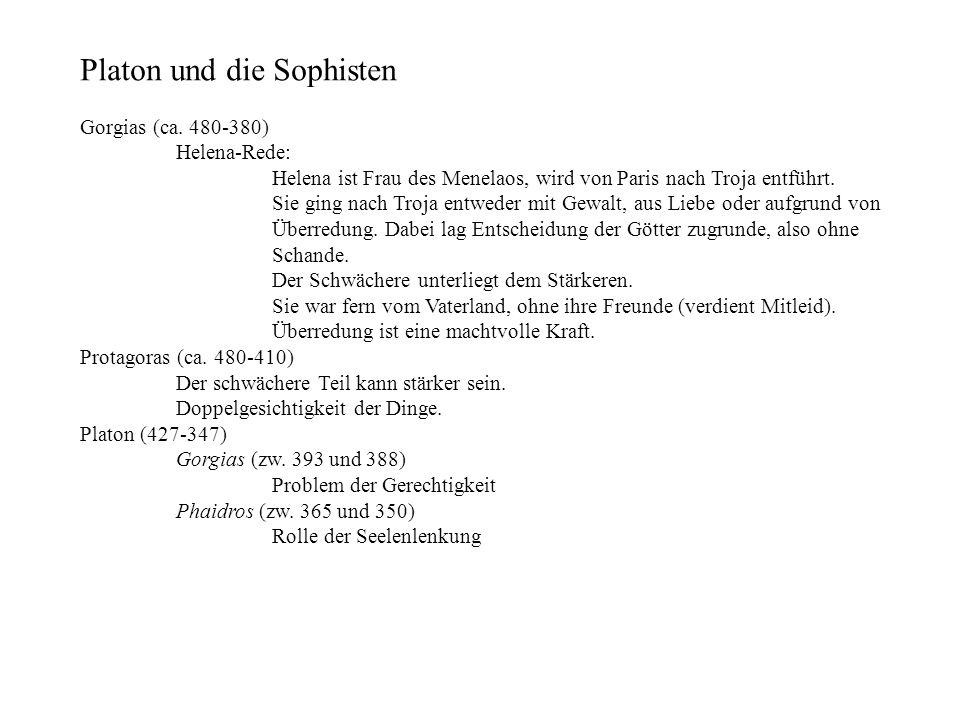 Platon und die Sophisten