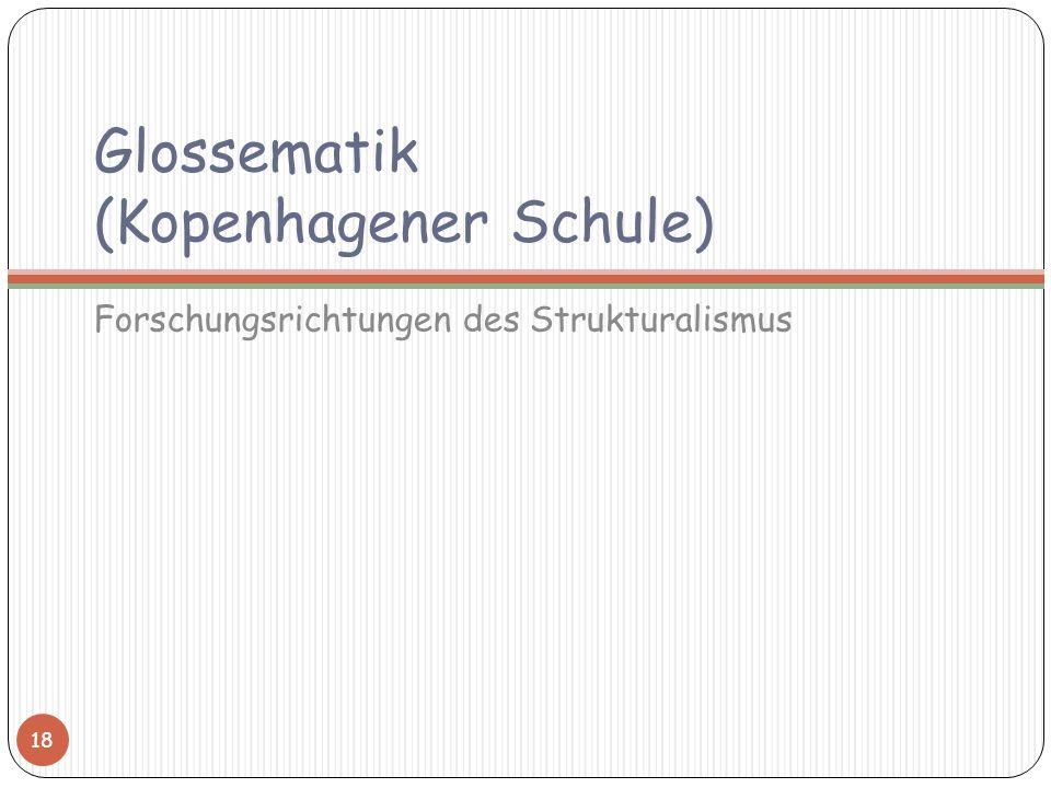 Glossematik (Kopenhagener Schule)