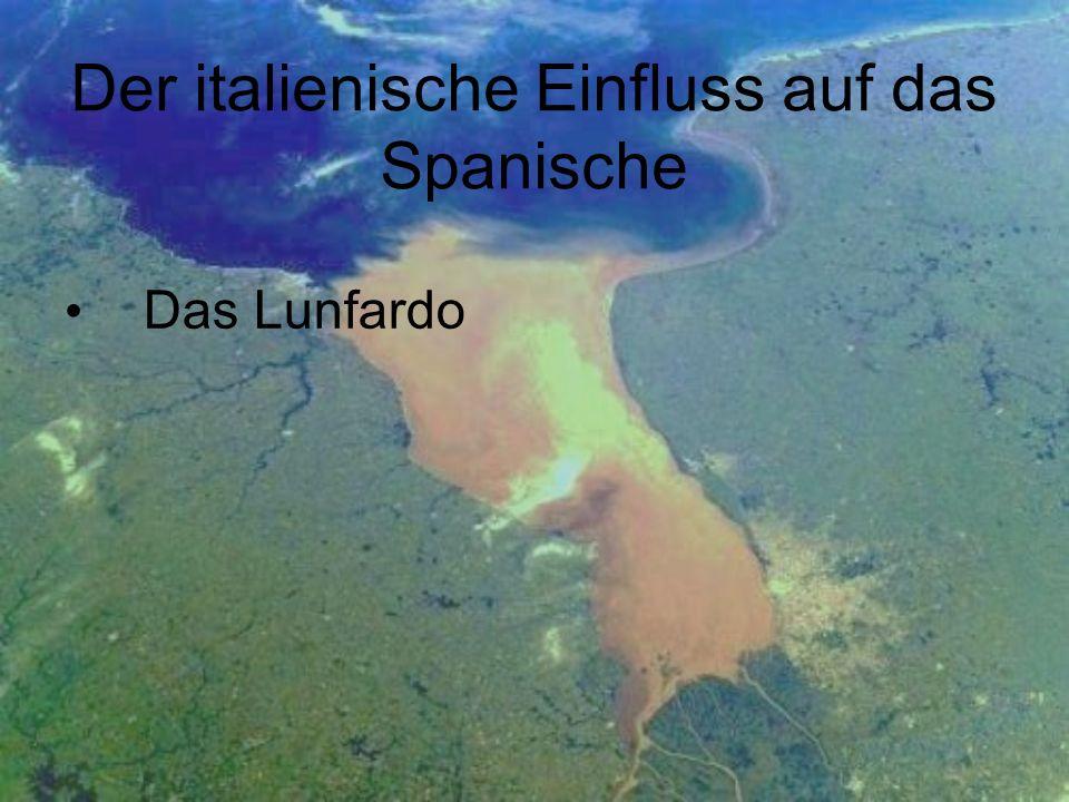 Der italienische Einfluss auf das Spanische