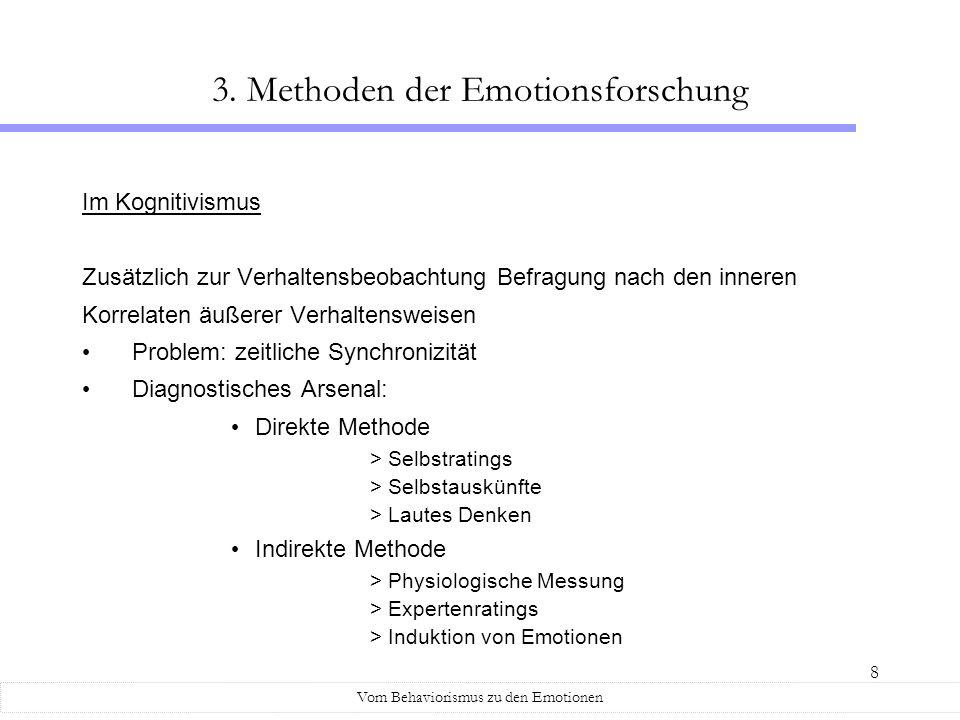 3. Methoden der Emotionsforschung