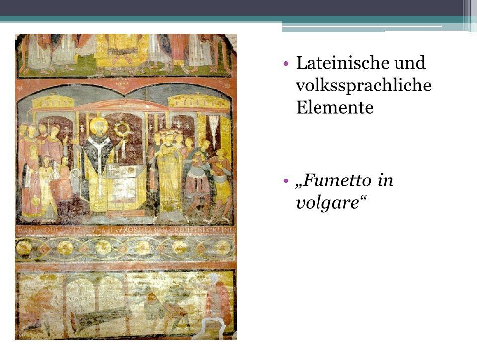 Lateinische und volkssprachliche Elemente