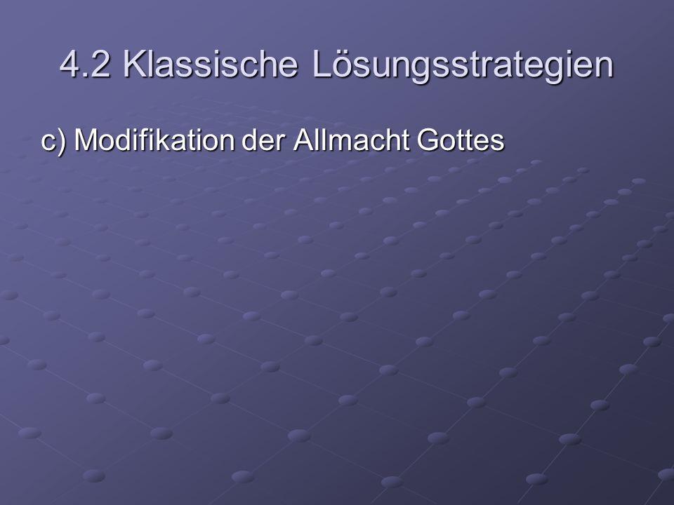 4.2 Klassische Lösungsstrategien