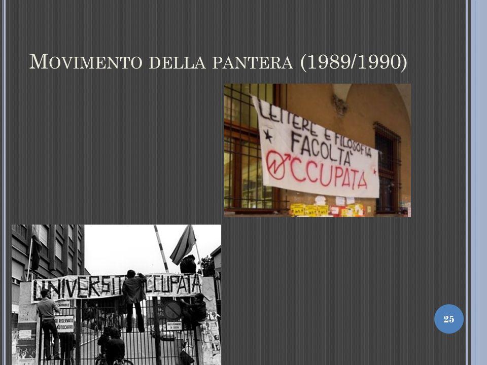 Movimento della pantera (1989/1990)