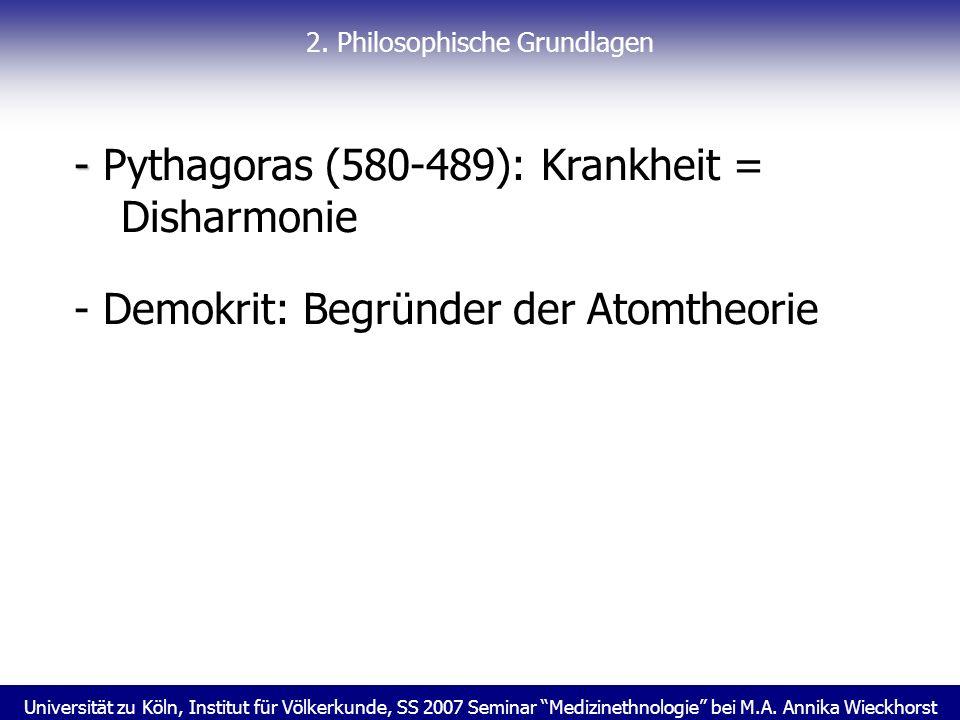 2. Philosophische Grundlagen