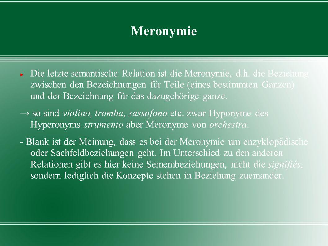 Meronymie