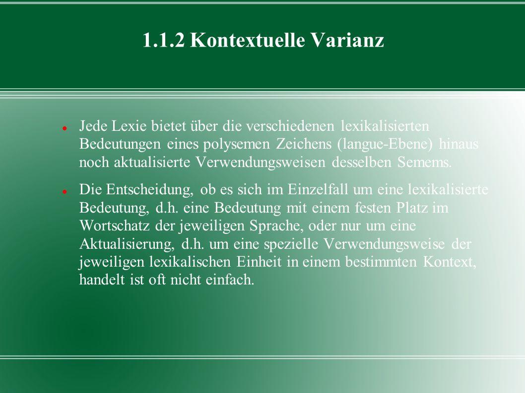 1.1.2 Kontextuelle Varianz