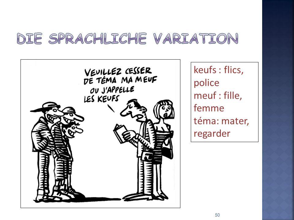 Die sprachliche Variation