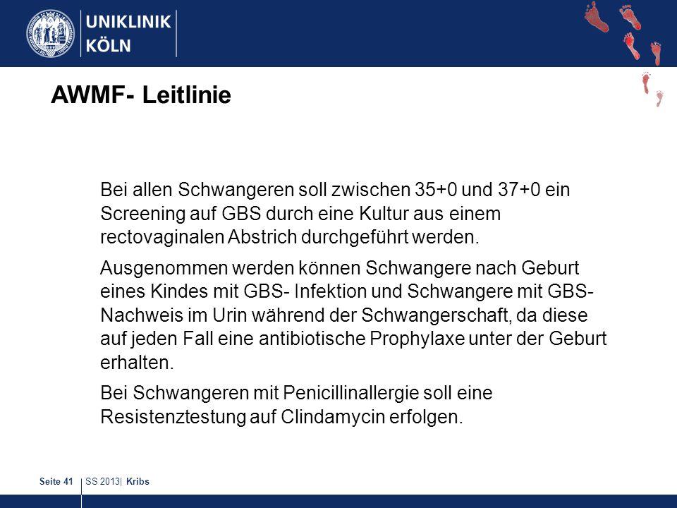 AWMF- Leitlinie