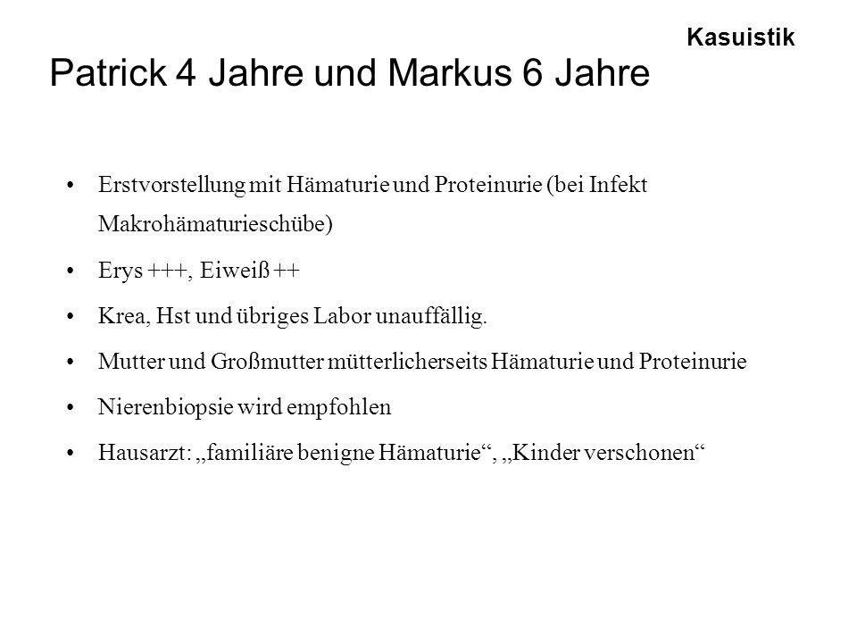 Patrick 4 Jahre und Markus 6 Jahre